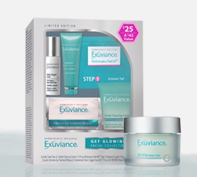 exuviance gift with purchase