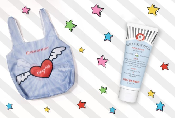 First Aid Beauty Tote gift with purchase