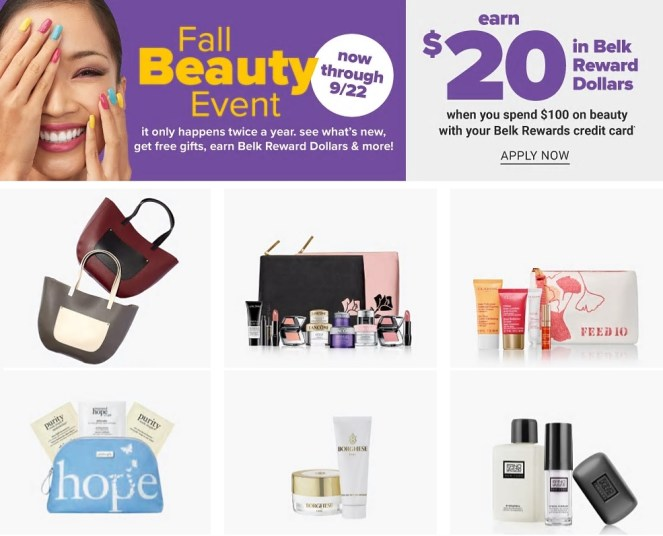 Belk Beauty Event September 2019