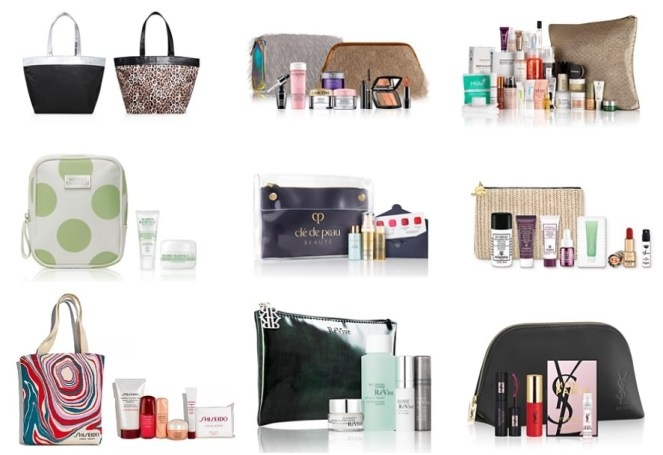 Bloomingdale's Beauty Benefits beauty event gifts with purchase