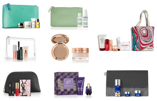 Bloomingdale's Beauty Treats gifts with purchase