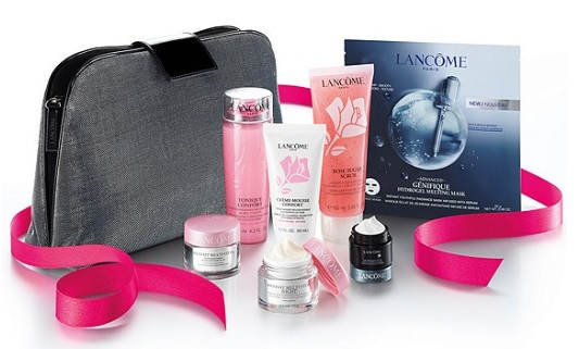 2019 lancome skincare purchase with purchase