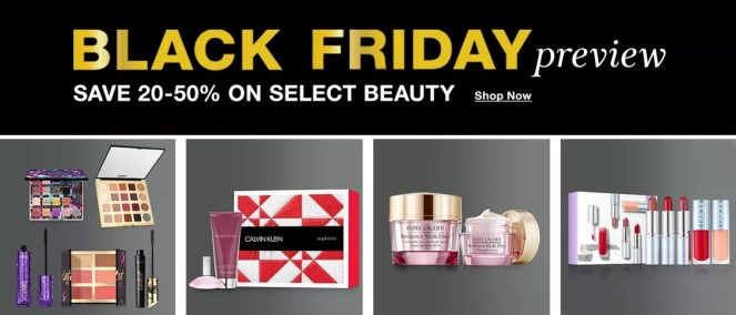 Macy's Black Friday Preview beauty offers