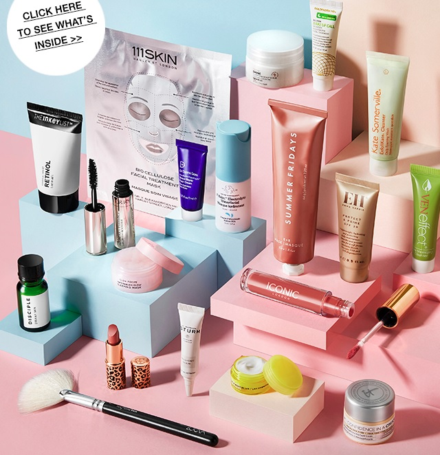 cult beauty spring goody bag 2020