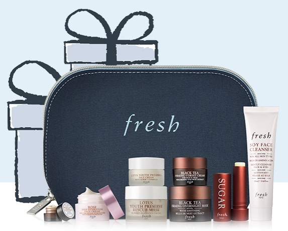 fresh gift with purchase