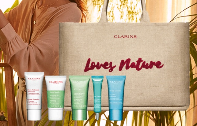 clarins earth day gift with purchase