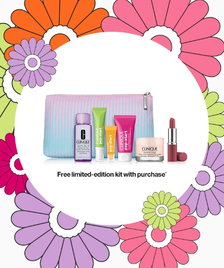 clinique flower power game gift with purchase