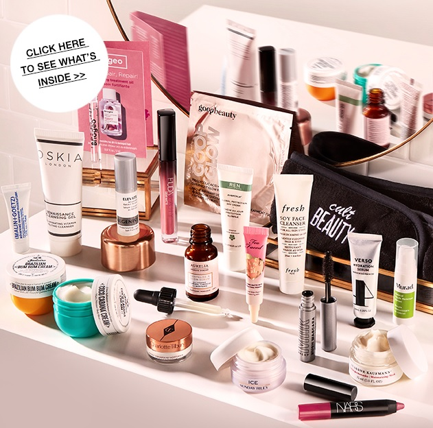 Cult Beauty Summer Self-Care Goody Bag 2020