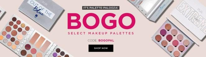 Pur Cosmetics palette bogo
