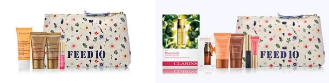 Clarins gifts with purchase