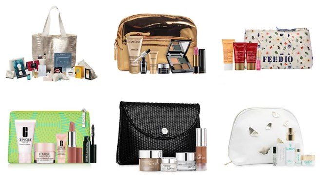 Saks fall beauty event gifts with purchase
