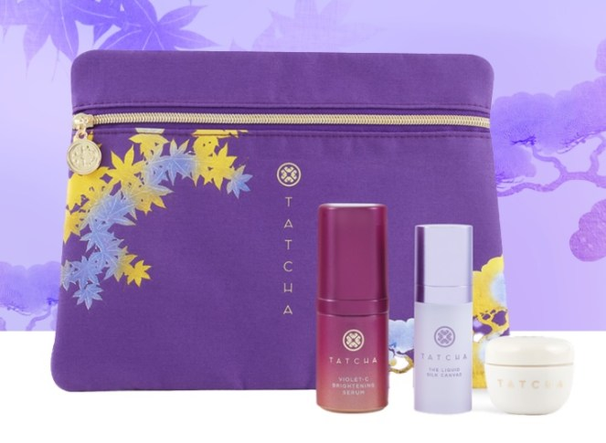 Tatcha build a set offer
