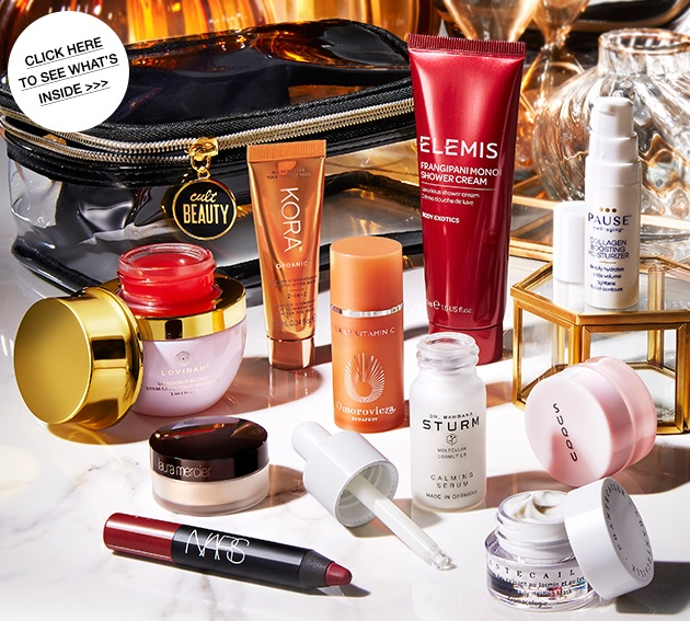 cult beauty bag goody gift with purchase