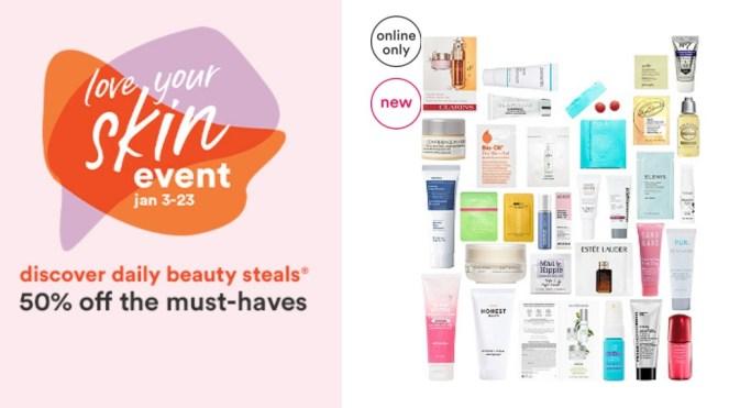 Ulta Love Your Skin Event January 20201