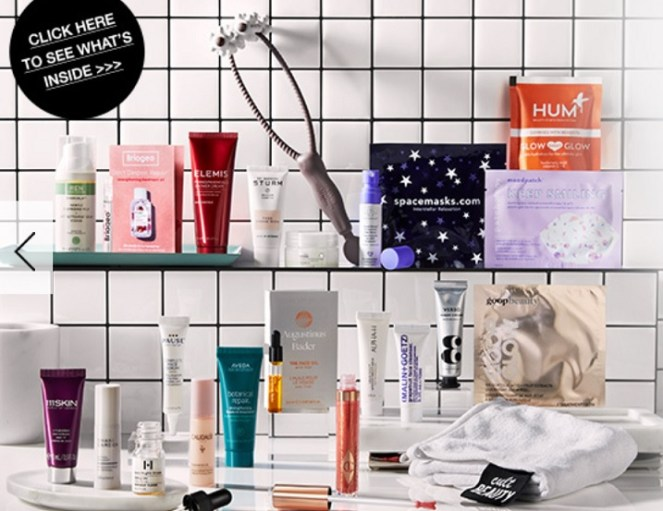 cult beauty self care goody bag gift with purchase