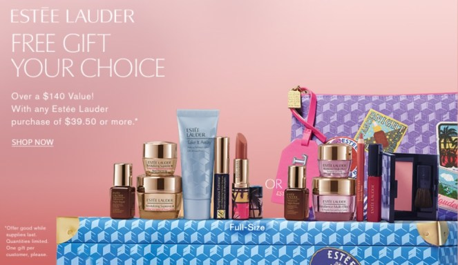 estee lauder gift with purchase at dillard's