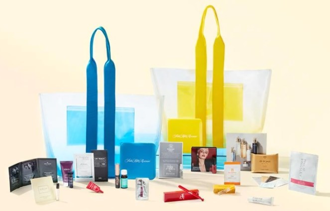 saks gift with purchase tote