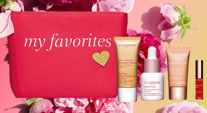 clarins mother's day gift with purchase