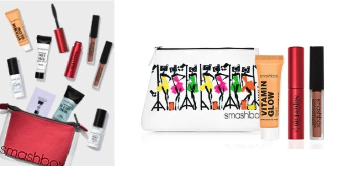 smashbox double gift with purchase offer