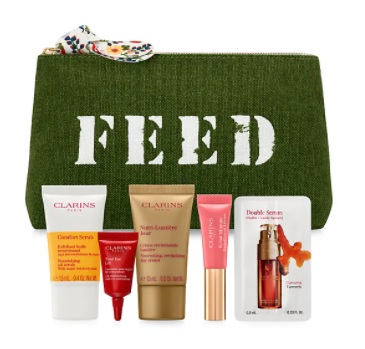 clarins gift with purchase at saks