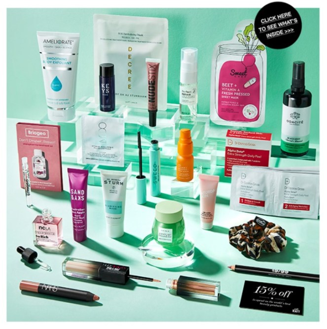 cult beauty the unsung heroes goody bag july 2021