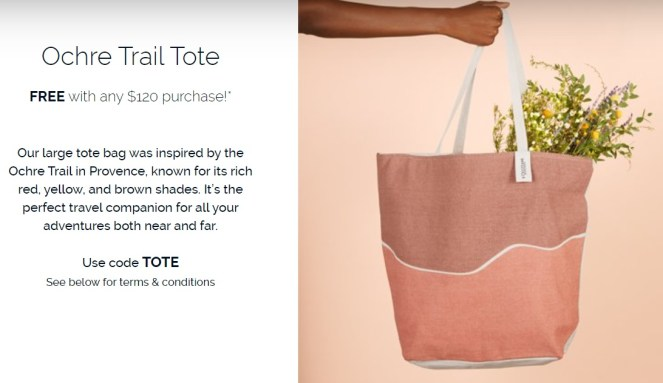l'occitane tote gift with purchase