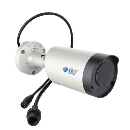 GW8150MMIC 8MP 4K IP POE 2.7-13.5mm Motorized Lens 4X Optical Zoom Bullet Security Camera