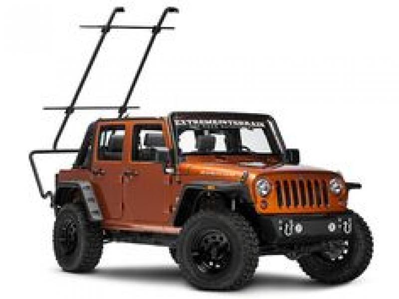 rugged ridge sherpa roof rack kit dachgepacktrager set 4 turer 07 18 jeep wrangler