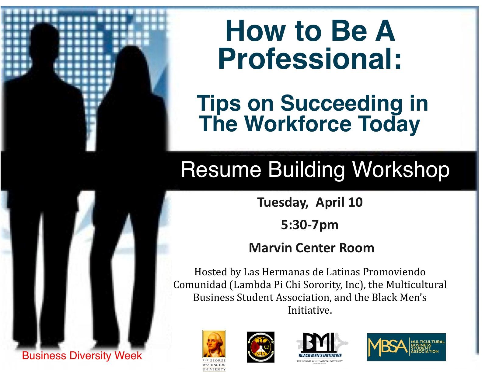 resume workshop workshop resume and cover letter critiquing