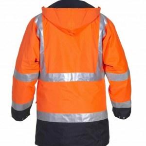 Apollo Parka EN 20471 Bicolour Oranje