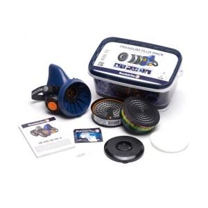 Sundström Premium Plus Pack SR 100 set met ABEK1 en P3 filter