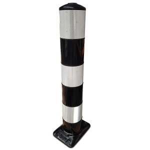 Flexpaal 160 mm zwart/wit klasse 2