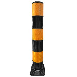 Flexpaal 160 mm zwart/geel klasse 2