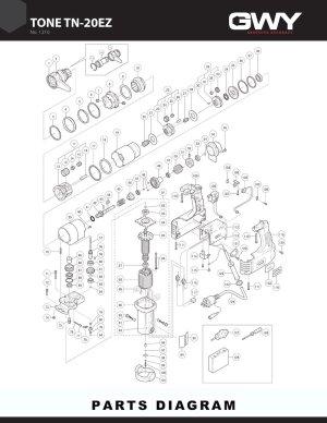 Turn of Nut Wrench TN20EZ   8888386500   GWY, Inc