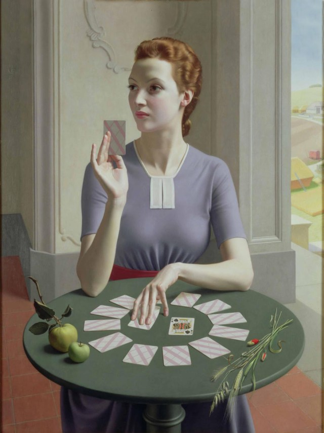 Meredith Frampton, A Game Of Patience,1937