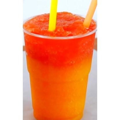 orange and mango slush