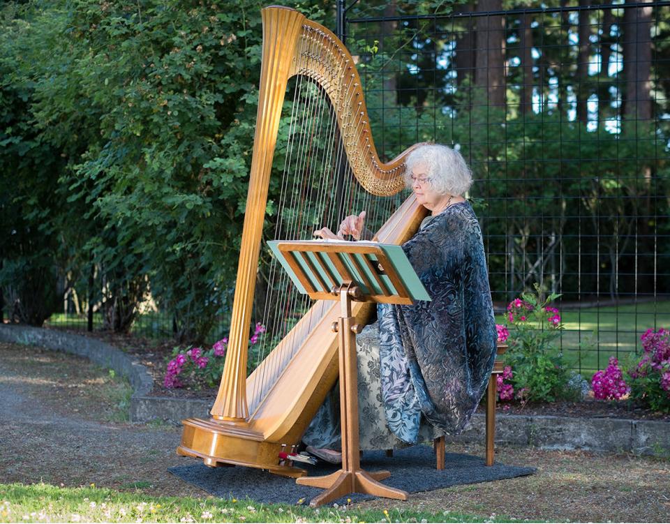 Gwyneth Evans - Harpist