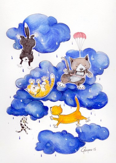 It's Only Raining Cats