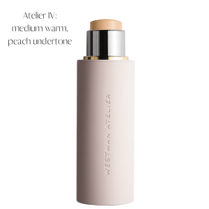 medium warm, peach undertone