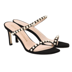 Aleena TWO BANDED SANDAL W/ PEARLS