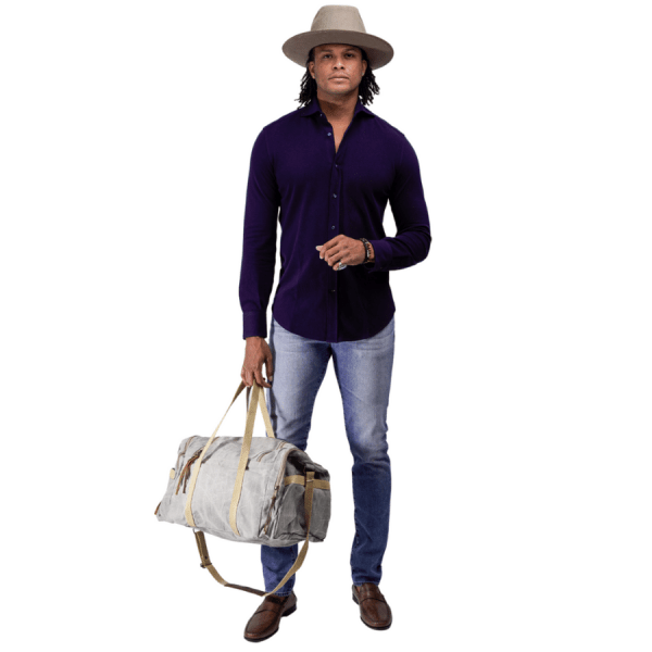 Washed Canvas Duffle Bag