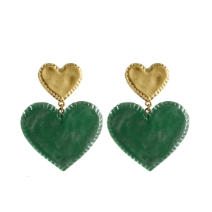 candy heart full view earrings