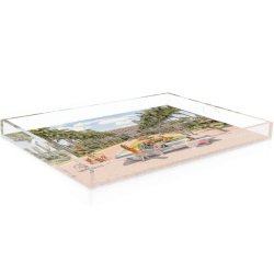 Breakers Palm Beach Acrylic Tray product shot side view