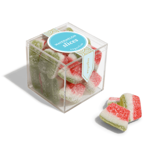 Sugarfina Watermelon Slices product shot up close detail
