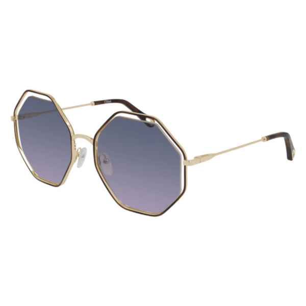 Chloe Octogonal Oversized Sunglasses product shot front side view