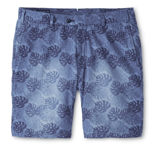 Sunwashed Floral Short