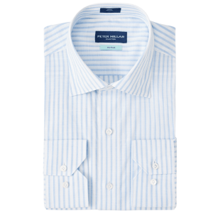 Summer Chambray Chateau Stripe Sport Shirt