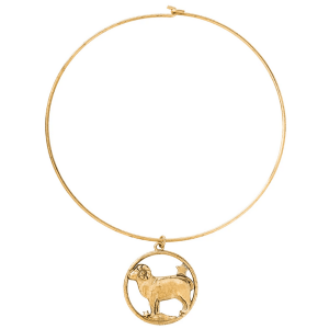 Aries Zodiac Necklace product shot