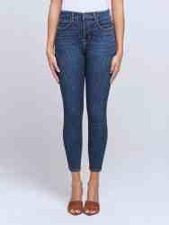 Margot High-Rise Skinny Jean in Meade