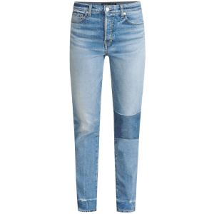 Ryleigh High-Rise Straight Patched Jean